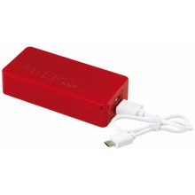 TOP ENERGY powerbank, piros